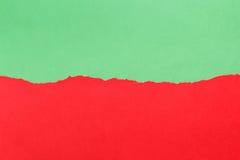 съемка предпосылки близкая бумажная вверх зеленый красный цвет Стоковая Фотография RF