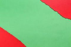 съемка предпосылки близкая бумажная вверх зеленый красный цвет Стоковое фото RF