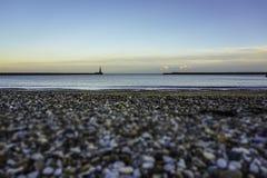 Съемка пристани Roker низкая стоковые фото