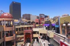 Съемка площади Westfield Horton, Сан-Диего Стоковое фото RF