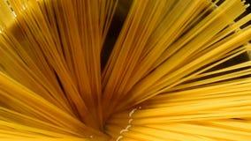Съемка спагетти обратная видеоматериал