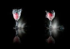 съемка стекла пасхального яйца Стоковые Изображения