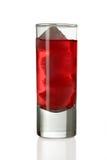 съемка стекла питья Стоковые Изображения RF