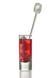 съемка стекла питья Стоковые Фото