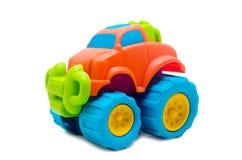 Съемка студии красочного автомобиля игрушки Стоковые Изображения RF