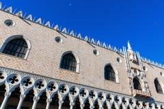 съемка venice дворца ночи Италии doges Стоковая Фотография RF