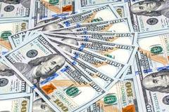 Съемки конца-вверх от 50 долларов банкноты Стоковые Изображения