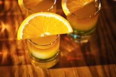 Съемки питья с плодоовощами Стоковое Изображение RF