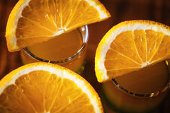 Съемки питья с плодоовощами Стоковое Изображение