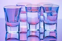 съемки питья Стоковые Изображения RF