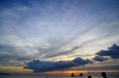 Съемки Солнця Стоковая Фотография