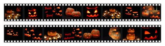 съемки фото halloween filmstrips Стоковая Фотография RF