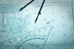 съемщик установленного квадрата плана s круга Стоковые Изображения RF