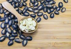Съестные семена арбуза Стоковые Фотографии RF