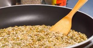 съестные toasted семена Стоковое Изображение RF