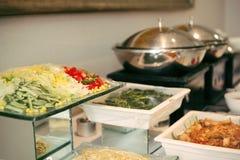 съешьте еду готовую к Стоковые Фото