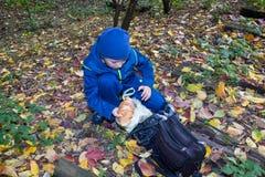 Съешьте осенью осень Стоковое Изображение RF