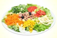 съешьте салат к Стоковые Изображения RF