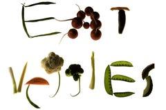 съешьте veggies Стоковое Изображение RF
