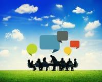 Сыгранность партнерства занятия коллеги делового сотрудничества Стоковые Фото