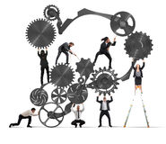 Сыгранность предпринимателей Стоковая Фотография
