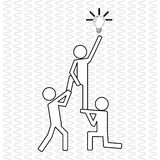 Сыгранность с дизайном шарика, иллюстрацией вектора Стоковое Изображение RF