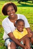 сынок мамы Стоковое фото RF