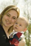 сынок мамы Стоковое Изображение RF