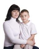 сынок мати Стоковая Фотография