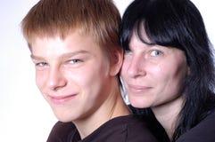 сынок мати Стоковое Изображение RF