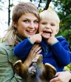 сынок мати Стоковая Фотография RF