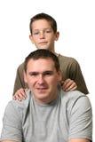 сынок отца Стоковое Изображение RF