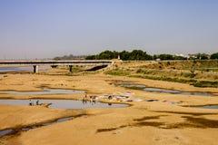 Сын Nagar Бихар Индия Стоковые Фото