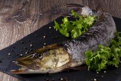 Сырая рыба Стоковые Фотографии RF