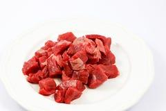 Сырое мясо для обедающего Стоковые Фотографии RF