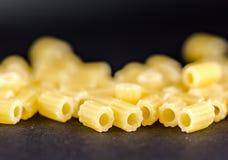 Сырое clouseup макаронных изделий Стоковое фото RF