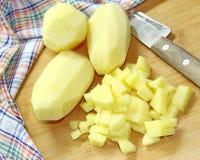 Сырцовая картошка Стоковые Изображения