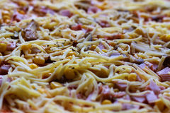 Сырцовая пицца Стоковая Фотография RF