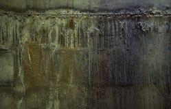 Сырцовая предпосылка бетонной стены Стоковое Изображение RF