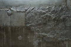 Сырцовая предпосылка бетонной стены Стоковые Изображения