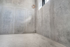 Сырцовая предпосылка бетонных стен Стоковая Фотография