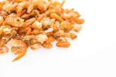 Сырцовая сухая креветка Стоковое фото RF