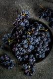 Сырцовая черная виноградина Стоковые Фотографии RF