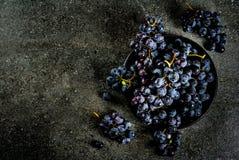 Сырцовая черная виноградина Стоковые Изображения RF