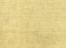 Сырцовая linen текстура Стоковые Изображения