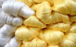 сырцовая silk резьба стоковое изображение