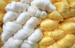 сырцовая silk резьба стоковые изображения