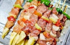Сырцовое барбекю говядины Стоковое Изображение