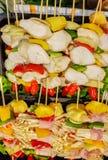 Сырцовое барбекю готовое для гриля Стоковые Изображения RF