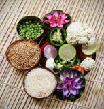 сырцовое еды индийское Стоковое фото RF